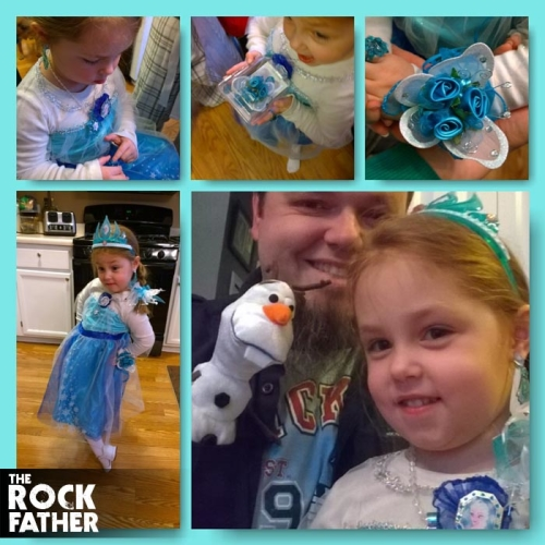 The Rock Father's Daddy Daughter Dance