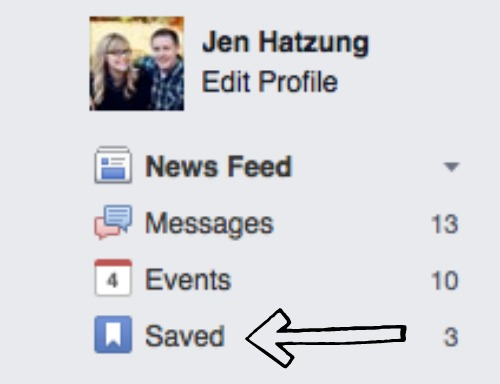 how to save Fb post 2