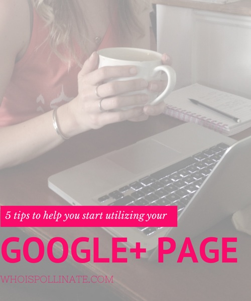 5 tips to help you start utilizing your google plus page