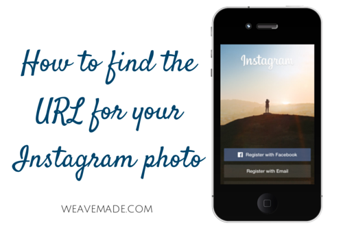 How to find the URL for your Instagram photo