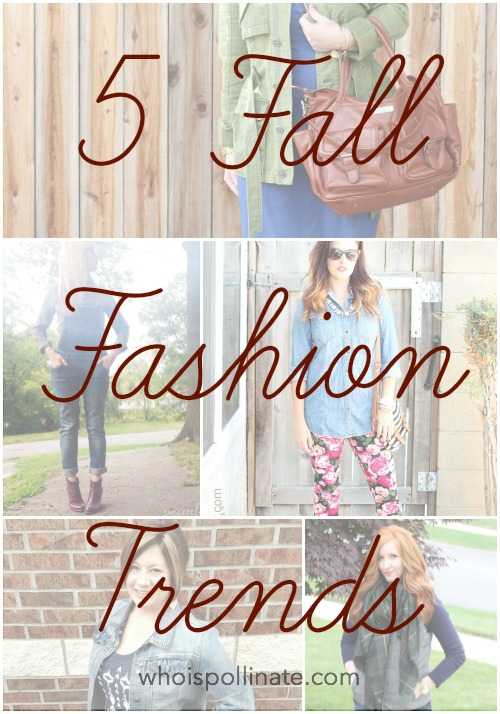 5 fall fashion trends
