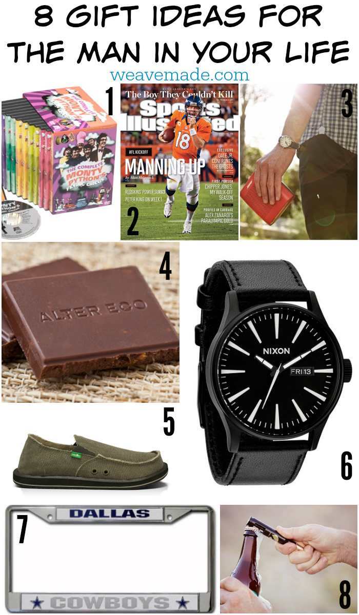 Weave Made Media – 8 Gift Ideas for the Man in Your Life