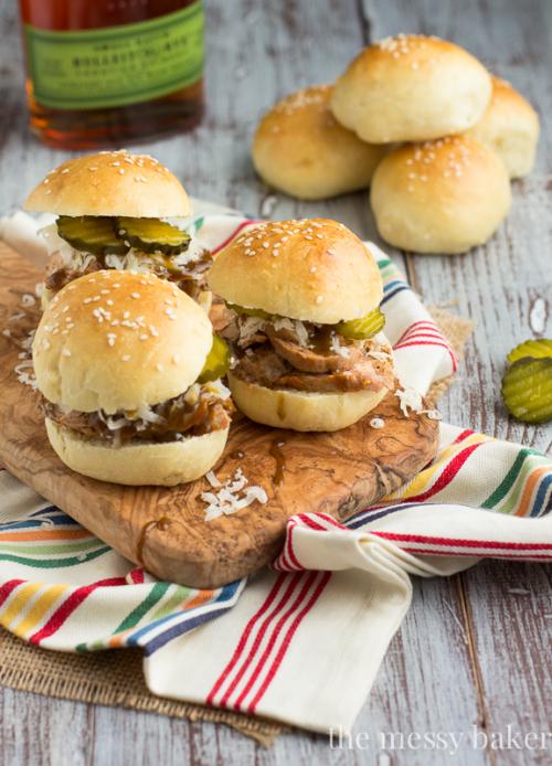 Pork-Sliders-with-Mustard-Bourbon-Glaze-3