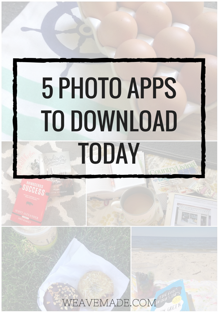 5 Photo Apps to Download Today