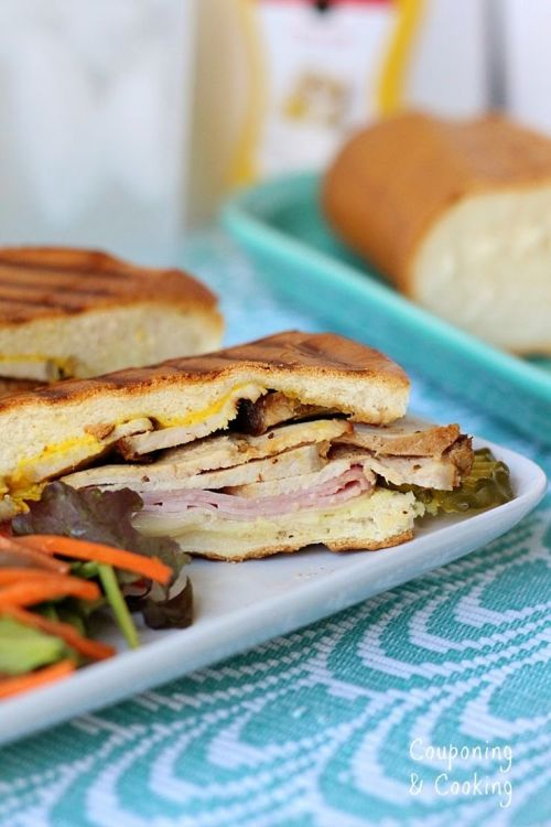 cuban sandwiches with Smithfiled Pork