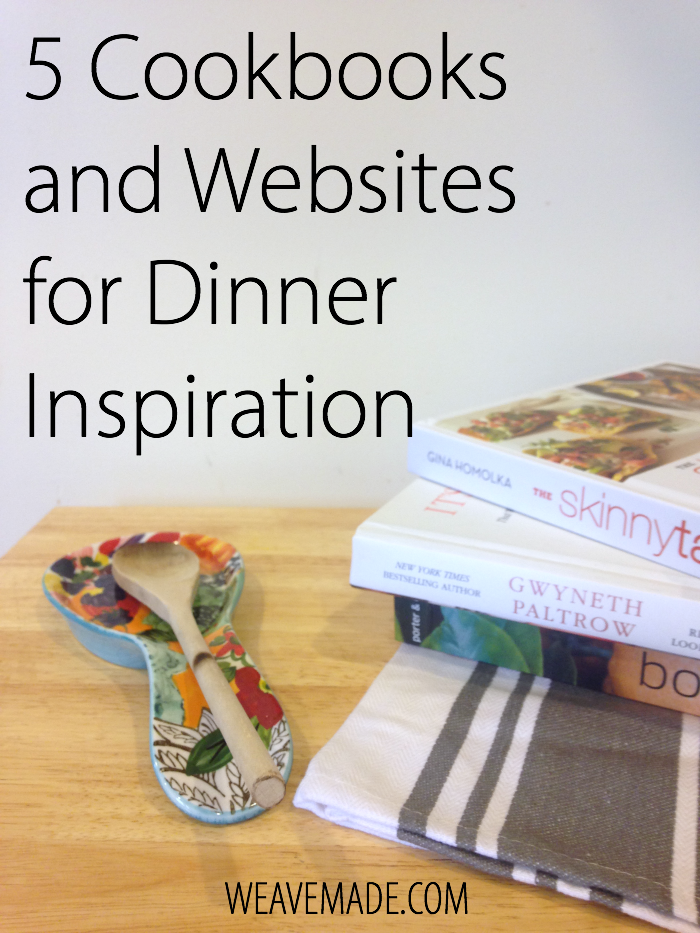 5 cookbooks and websites for dinner inspiration