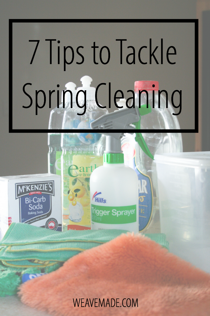 7 Tips to Tackle Spring Cleaning