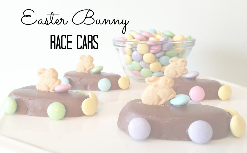 Easter Bunny Race Cars 1