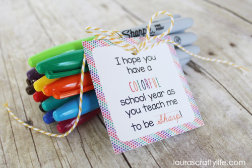 Sharpie-Marker-Back-to-School-Gift-with-Printable-Tag